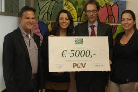 Merial sponsort POV met €5000 voor sector-pr