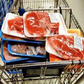 Jongen betrapt op stelen vlees