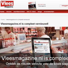Vleesmagazine.nl compleet vernieuwd