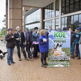 Actie tegen kortingseis Albert Heijn