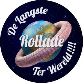 Slagers in ban langste rollade ter wereld