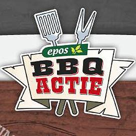 René Pluijm gezicht BBQ-actie van Epos