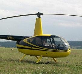 Slager geeft helikoptervlucht weg