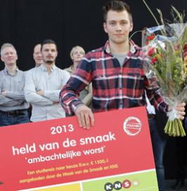 Slager Alexander de Feijter Held van de Smaak 2013