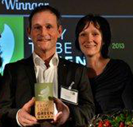 Slagerij Rutten wint Easy to be Green Award