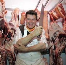 Slagerslegende Dario Cecchini bij demodagen Keurslagers