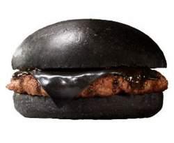 Burger King bakt inktzwarte hamburger
