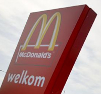 McDonald's start met bruinbrood