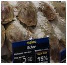 Consument laat vlees liggen voor vis
