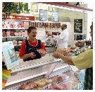 Slager contra supermarkt