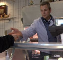 Ries de Groot legt slagersmes neer (radio-interview)