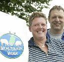 Slagersvrouwen naar Beemsterlant's varken