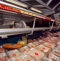 Led-verlichting gaat bederf vleeswaren tegen