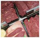 Tussensegment vlees lijkt nabij