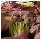 Dringen bij slagers en poeliers