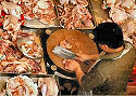 Indiase slagers stoppen met verkoop varkensvlees