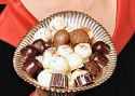 Chocotruffels met vlees hit bij mannen