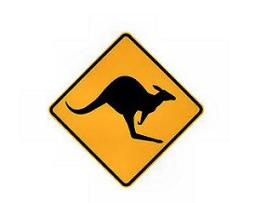 Zorg om kangoeroevlees-acties