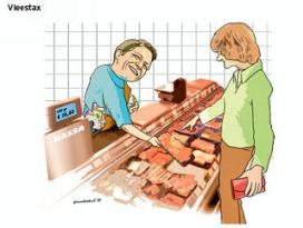 Vleestax: voor Bos of bossen? (download cartoon)