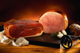 Slager maakt gekookte ham (film)