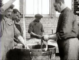 Uniek filmpje over worstmaken in 1920
