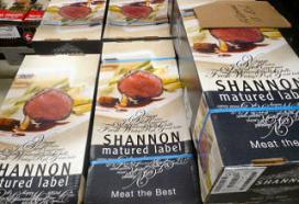 Prijs houdt rijpen vlees tegen