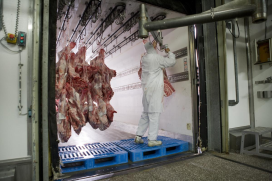 Doorkoelen vlees in koelauto verboden