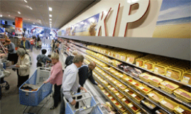 'Bijna al het kippenvlees in supermarkt besmet