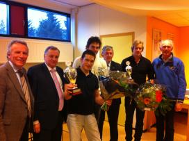 Young Butchers met Van der Hout en Lopez