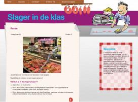 Lesmateriaal slagerij op slagerindeklas.nl