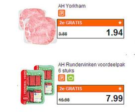 Verantwoord vlees in supermarkt