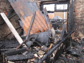 Ravage afgebrande slagerij op Facebook