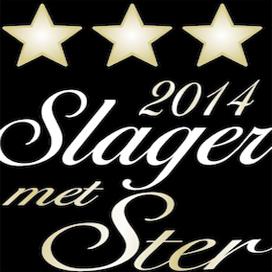 Slager met Ster 2014: sterren voor 47 slagerijbedrijven