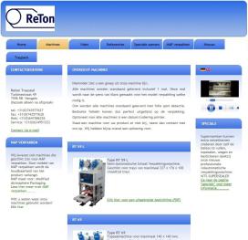 Nieuwe website ReTon Trayseal online