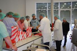 Succesvol slagerijseminar Hela in Ahrensburg