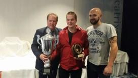 Peter Tap winnaar van Bronzen Rookworst 2015