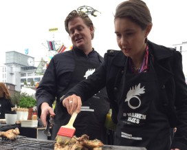 'Mannenvleesbarbecue' op Dutch Design Week