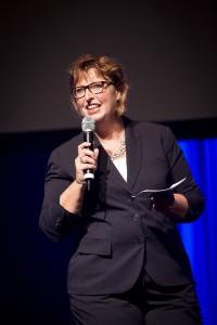 Hoofdredacteur van Vleesmagazine Marijke Buijs. Foto: Koos Groenewold