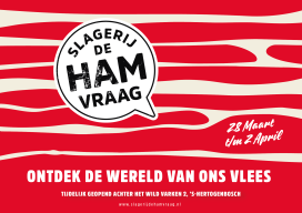 Slagerij de Hamvraag met talkshows, demo's en workshops