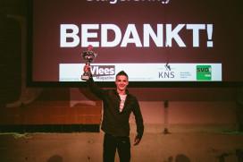 Dirk Tap winnaar Jong Talent bij Gouden Slagersring