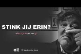 Campagne Varkens in Nood: Turn your nose up