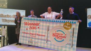 Culinaire Slagerij Wapenaar heeft de Lekkerste Bal Gehakt van 2016 gewonnen. Foto: Wendy Noordzij