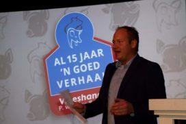 Ruim vijfhonderd relaties nemen kijkje bij jubilerende Vleeshandel P. van den Berg