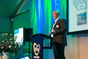 Aukje-Jan Heeringa, directeur van de Unox worstfabriek.