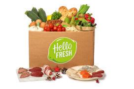 HelloFresh introduceert Kerstboxen