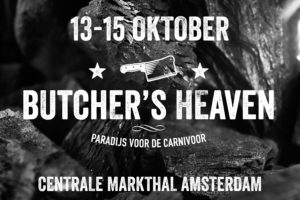 Vleesfestival Butcher's Heaven in Amsterdam.