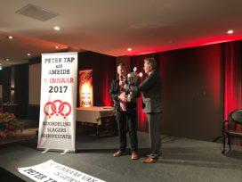 NSM: Peter Tap wint gele trui in slagersbranche