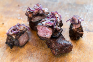 Short ribs van de barbecue