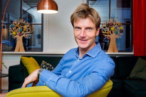 Cothen, 7 december 2017 ? Bijna drie op de vier NederlanderADrfees peter van den Bosch van social enterprise Willem&Drees. Foto: Willem&Drees