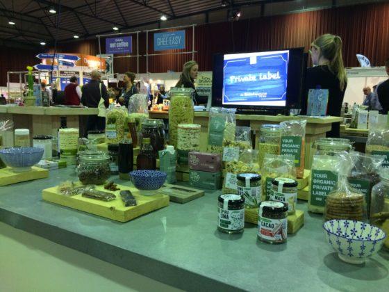 Biologisch wordt onder diverse private labels in de markt gezet.